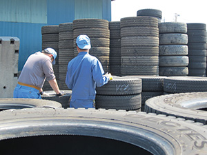 Tire Collection & Recycling - Learn about the process - KKB